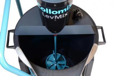 Amestecator automat pentru sape autonivelante LevMix